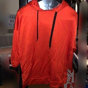 Zara pull over hoodie top